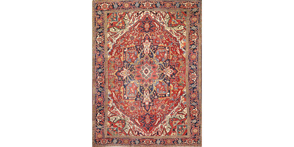 A Serapi carpet  size approximately 8ft. 6in. x 11ft. 4in.