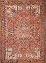 A Heriz carpet  size approximately 10ft. 1in. x 13ft. 5in.