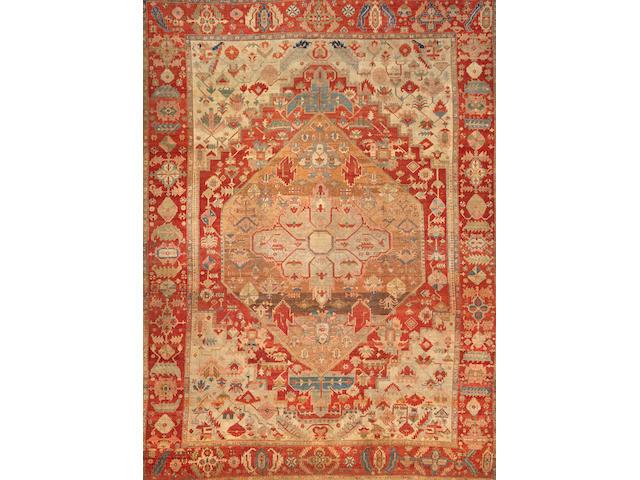 A Serapi carpet  size approximately 10ft. x 13ft.