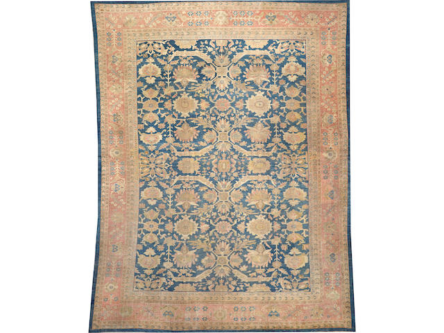 A Sultanabad carpet  size approximately 12ft. 5in. x 16ft.