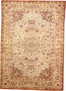 A Turkish silk rug size approximately 4ft. 1in. x 6ft. 1in.