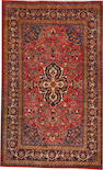 A Kashan rug  size approximately 6ft. x 9ft. 8in.