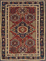 A Kuba rug size approximately 4ft. 8in. x 6ft. 1in.