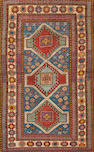 A Kazak rug  size approximately 4ft. 2in. x 6ft. 9in.