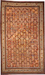 A Sultanabad carpet  size approximately 12ft. 8in. x 20ft. 5in.
