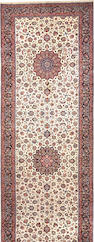A Meshed carpet  size approximately 8ft. 2in. x 26ft.