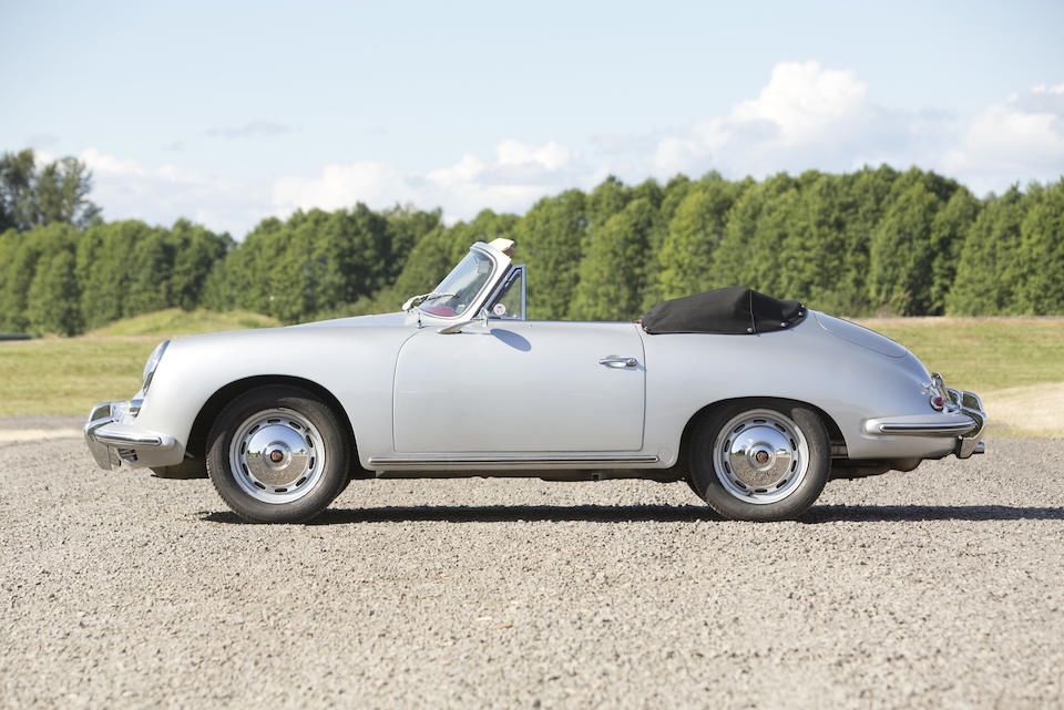 <b>1960 PORSCHE 356B 1600 SUPER 90 CABRIOLET  </b><br />Chassis no. 153886 <br />Engine no. P801111