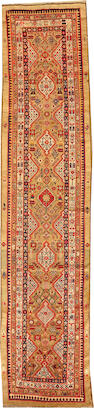 A Serab runner   size approximately 3ft. 6in. x 14ft. 11in.