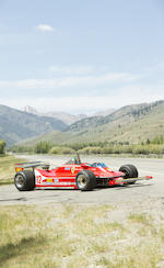 <i>The Enzo Ferrari-approved, ex-Dr. Bonomi, Gilles Villeneuve tribute</i><br /><b>1979 FERRARI 312T4 FORMULA 1 RACING SINGLE-SEATER  </b><br />Chassis no. 037 <br />Engine no. 035