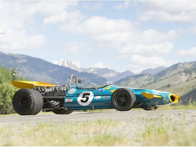 <i>The ex-Sir Jack Brabham, Ron Tauranac-designed, and South African Grand Prix-winning</i><br />1970 Brabham-Cosworth Ford BT33 Formula 1 Racing Single Seater