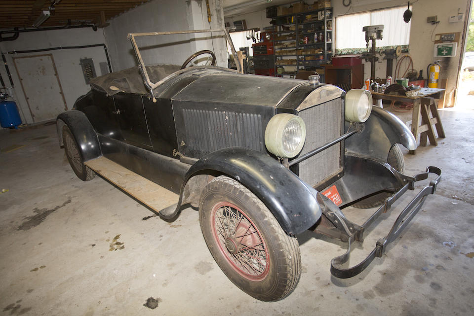 <i>From the Robert Ullrich Collection</i><br /><b>1922 STANLEY MODEL 740 2-PASSENGER ROADSTER  </b><br />Chassis no. 22288