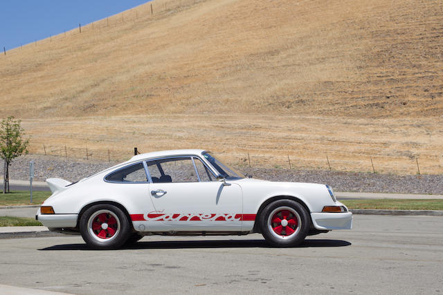 <b>1973 PORSCHE 911 CARRERA RS 2.7  </b><br />Chassis no. 9113600287 <br />Engine no. 6630284 (see text)