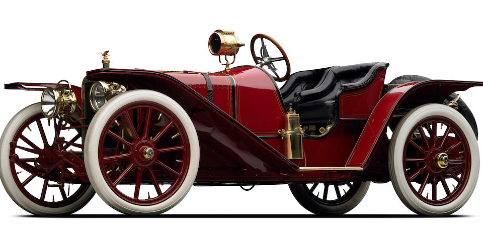 The F.C. Deemer 'Honeymoon' Roadster,1907 American Underslung 50hp Two Seater Sports Roadster  Engine no. 1402