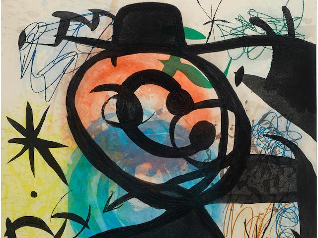 Joan Miró (1893-1983); Pitre Rose;