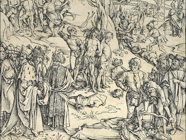 Albrecht Dürer (1471-1528); Martyrdom of the Ten Thousand;