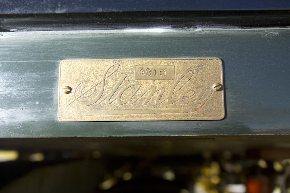 <i>From the Robert Ullrich Collection</i><br /><b>1908 STANLEY MODEL K SEMI-RACER  </b><br />Chassis no. 3810 <br />Engine no. 22388