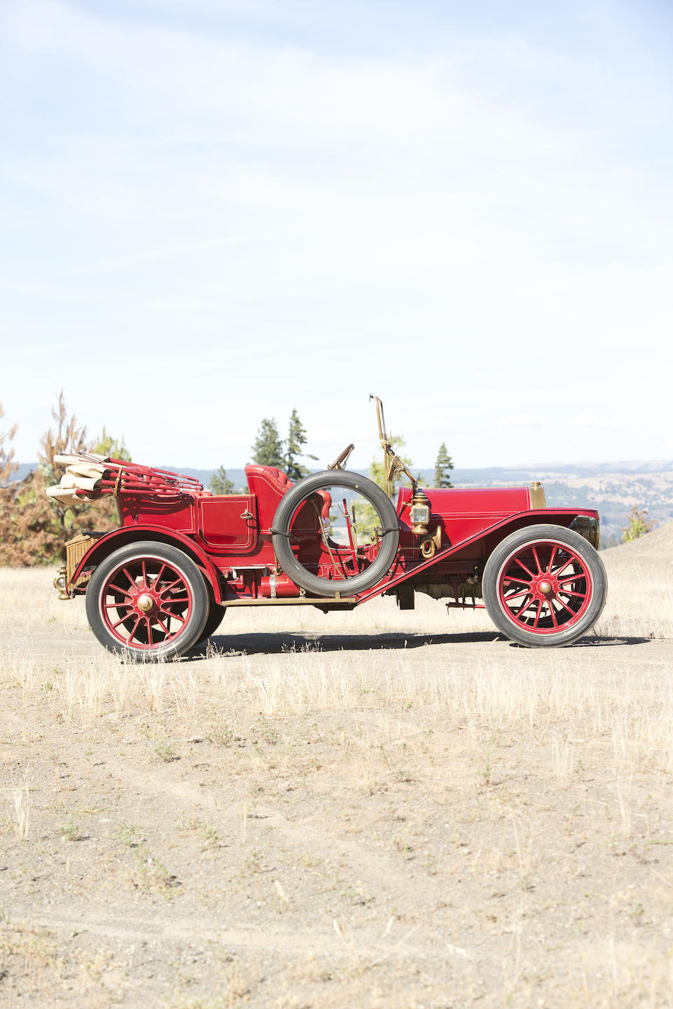 <i>From the Robert Ullrich Collection</i><b><br />1910 KISSEL KAR MODEL D-10 50HP 5-PASSENGER TOURING      </b><br />Chassis no. 1353