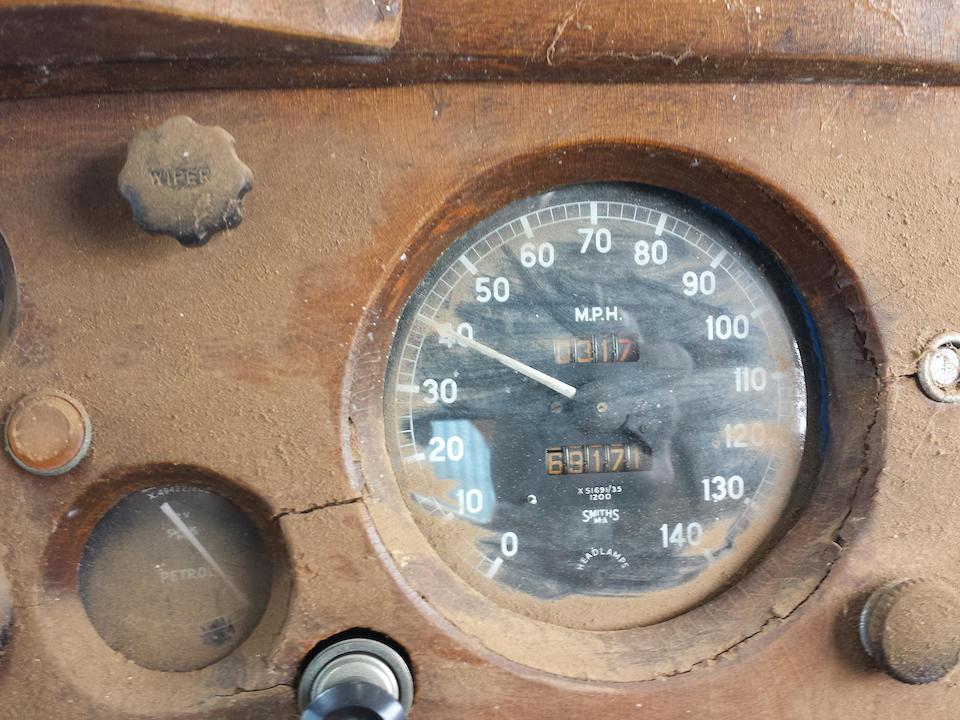 <b>1953 JAGUAR XK120 DROPHEAD COUPE  </b><br />Chassis no. S677295 <br />Engine no. 1776-9