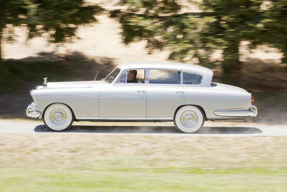 <b>1954 ROLLS-ROYCE SILVER WRAITH LWB SPECIAL SALOON  </b><br />Chassis no. LCLW14 <br />Engine no. L13C