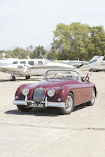 <b>1958 JAGUAR XK150 3.4-LITER DROPHEAD COUPE  </b><br />Chassis no. S837560 <br />Engine no. V4634-8