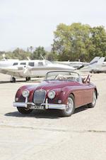 <b>1958 JAGUAR XK150 3.4-LITER DROPHEAD COUPE  </b><br />Chassis no. S837560 <br />Engine no. V4634-8