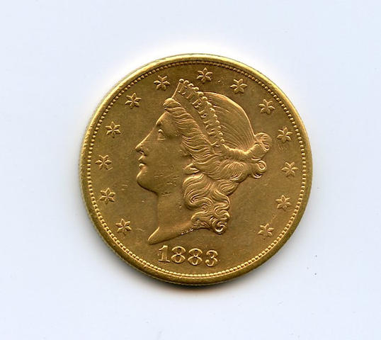 1883-S $20