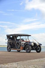 <i>The Hordern Ghost – Previously owned by Richard C. Paine Jr. and John Mozart</i><br /><b>1913 Rolls-Royce 40/50hp silver Ghost Roi-Des-Belges Tourer </b><br />Chassis no. 2617 <br />Engine no. 11A