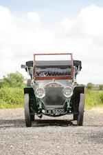 <i>Formerly the property of Rod Blood, ex-President of the Veteran Motor Car Club of America</i><br /><b>1908 NAPIER TYPE 23A 45HP SEVEN SEATER TOURING CAR  </b><br />Chassis no. 4134 <br />Engine no. 3347
