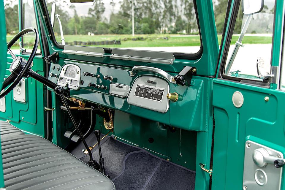 <b>1972 TOYOTA LAND CRUISER FJ43 LWB  </b><br />Chassis no. FJ43-24324 <br />Engine no. F377783