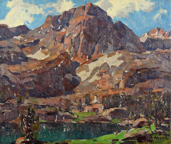 Edgar Payne (1883-1947) Sierra splendor 20 x 24in