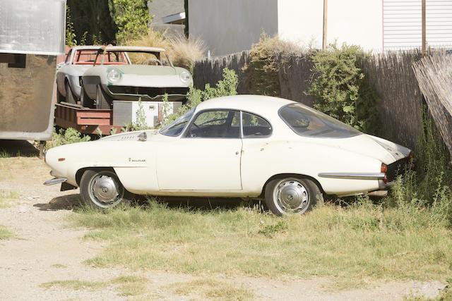 <b>1965 ALFA ROMEO GIULIA SPRINT SPECIALE </b><br />  Chassis no. AR 381354 <br />Engine no. AR00121*01353
