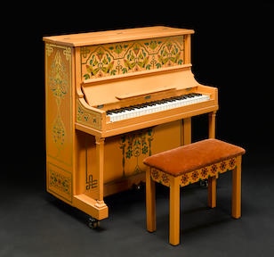"The piano from Casablanca on which Sam plays ""As Time Goes By"""
