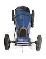 An electric Baby Bugatti Type 52 replica race car, by Antique Automobiles, Ltd. circa 1969,