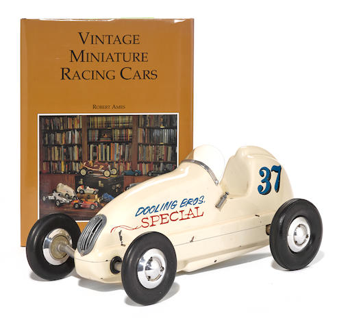 A well known example of a Dooling Bros. rear driven pylon racer, circa 1946,