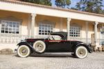 <i>Offered from the Ivone Peitz Collection</i><br /><b>1928 PACKARD CUSTOM EIGHT MODEL 4-43 ROADSTER  </b><br />Chassis no. 228371 <br />Engine no. 228031A