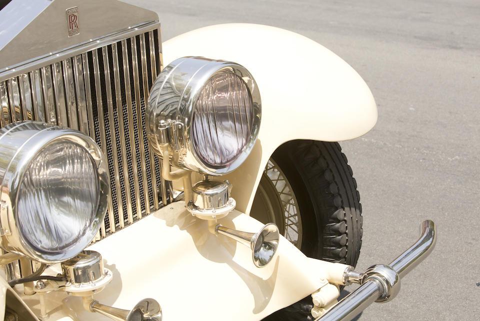 <i>The ex-Jack L. Warner, Matt and Barbara Browning</i><br /><b>1929 ROLLS-ROYCE PHANTOM I TRANSFORMAL PHAETON </b><br />  Chassis no. S319KP <br />Engine no. 20198