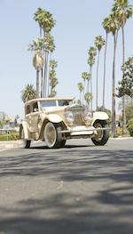 <i>The ex-Jack L. Warner, Matt and Barbara Browning</i><br /><b>1929 ROLLS-ROYCE PHANTOM I TRANSFORMAL PHAETON </b><br />  Chassis no. S319KP <br />Engine no. 20198