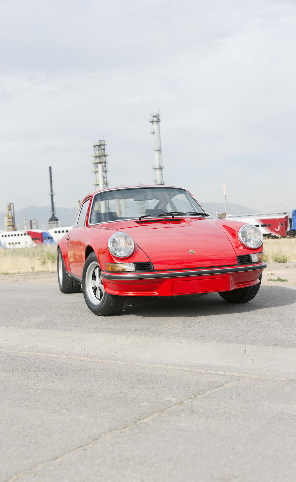 <b>1973 PORSCHE 911 CARRERA RS 2.7  </b><br />Chassis no. 9113600125 <br />Engine no. 6630156