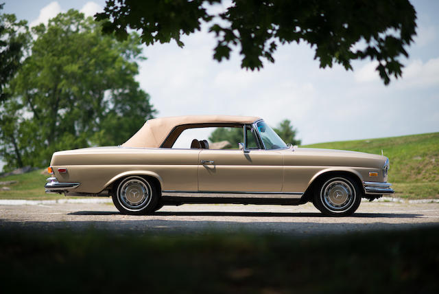 <b>1971 MERCEDES-BENZ 280SE 3.5 CABRIOLET  </b><br />Chassis no. 111027.12.004323 <br />Engine no. 116980.12.005541