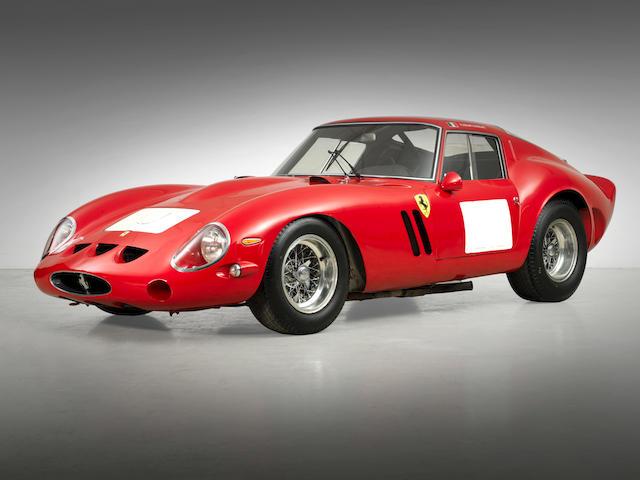 <i>The Ex-Jo Schlesser/Henri Oreiller, Paolo Colombo, Ernesto Prinoth, Fabrizio Violati</i><br /><b>1962-63 FERRARI 250 GTO BERLINETTA</b><br />Chassis no. 3851GT<br />Engine no. 3851GT