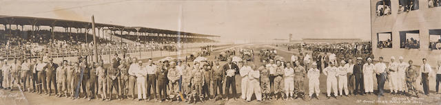 A Panoramic Photograph of the 1915 Minneapolis 500,