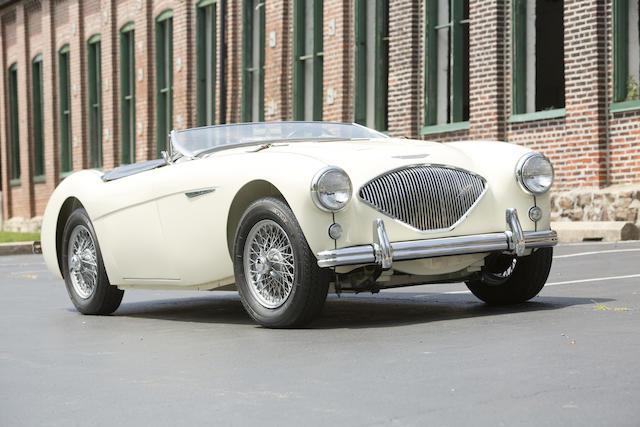 <b>1956 AUSTIN-HEALEY  100 BN2  </b><br />Chassis no. BN2L 230518 <br />Engine no. B 230518 M
