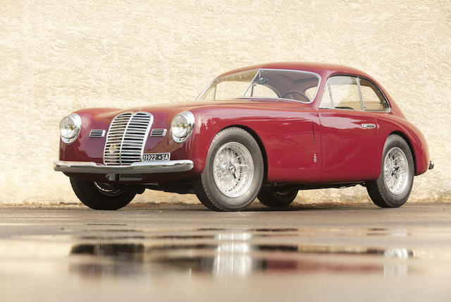 <i>The ex-Isabella Quarantotti and Donatello Mennini</i><br /><b>1949 MASERATI A6 1500/3C BERLINETTA a</b><br />  Chassis no. 086 <br />Engine no. 086
