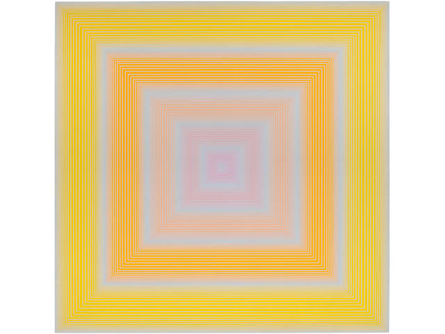 RICHARD ANUSZKIEWICZ (b. 1930) Soft Yellow, 1972