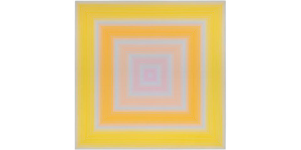 RICHARD ANUSZKIEWICZ (b. 1930) Soft Yellow, 1972