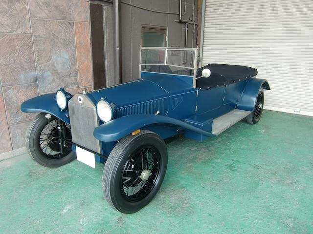<b>1926 LANCIA LAMBDA 6TH SERIES TORPEDO TOURER  </b><br />Chassis no. 14656 <br />Engine no. 4709