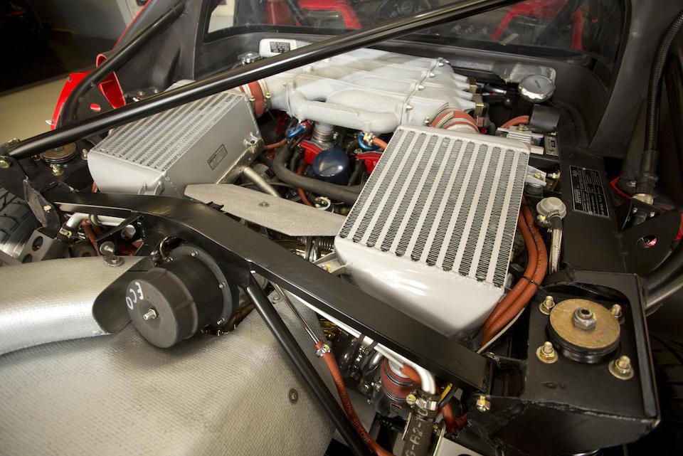 <b>1991 FERRARI F40</b><br />  VIN. ZFFMN34AXM0089767 <br />Engine no. 27523