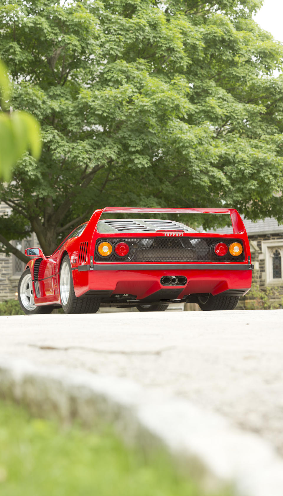 <b>1991 FERRARI F40</b><br />  VIN. ZFFMN34AXM0089767 <br />Engine no. 27523