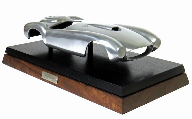 A one-off 1:12 scale Ferrari 375 PLUS,