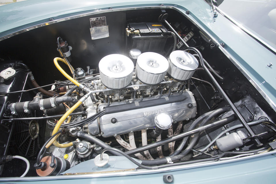<i>Ex-Charles Pozzi</i><br /><B>1952 FERRARI 212 EUROPA COUPE </b><br />  Chassis no. 0277EU <br />Engine no. 0277EU